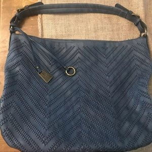 Wilson's leather (black river) navy pocketbook